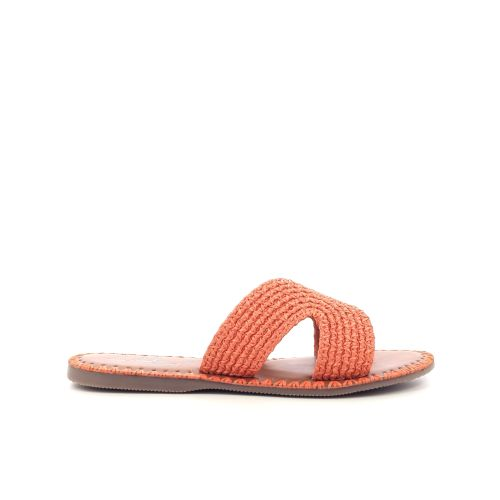 Atelier tropezien damesschoenen sleffer oranje 202975
