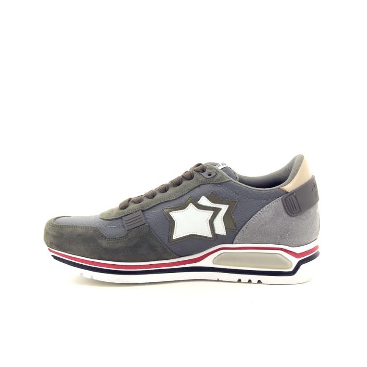 Atlantic stars herenschoenen sneaker kaki 194155