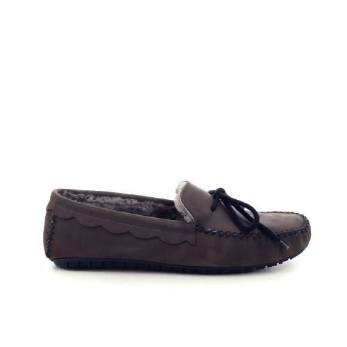 Bamanellos  pantoffel d.taupe 200527