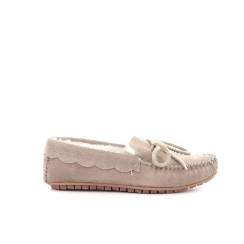 Bamanellos damesschoenen pantoffel donkerblauw 200539