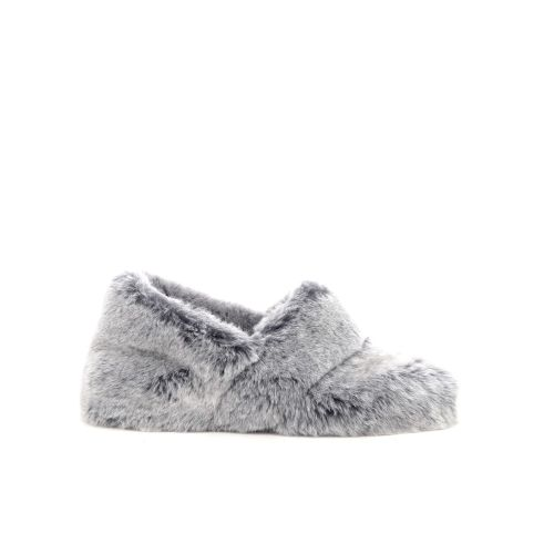 Bamanellos damesschoenen pantoffel grijs 20375