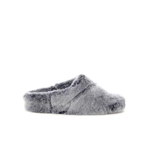 Bamanellos damesschoenen pantoffel grijs 200534