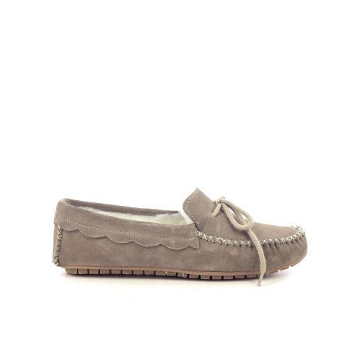 Bamanellos damesschoenen pantoffel zandbeige 210479