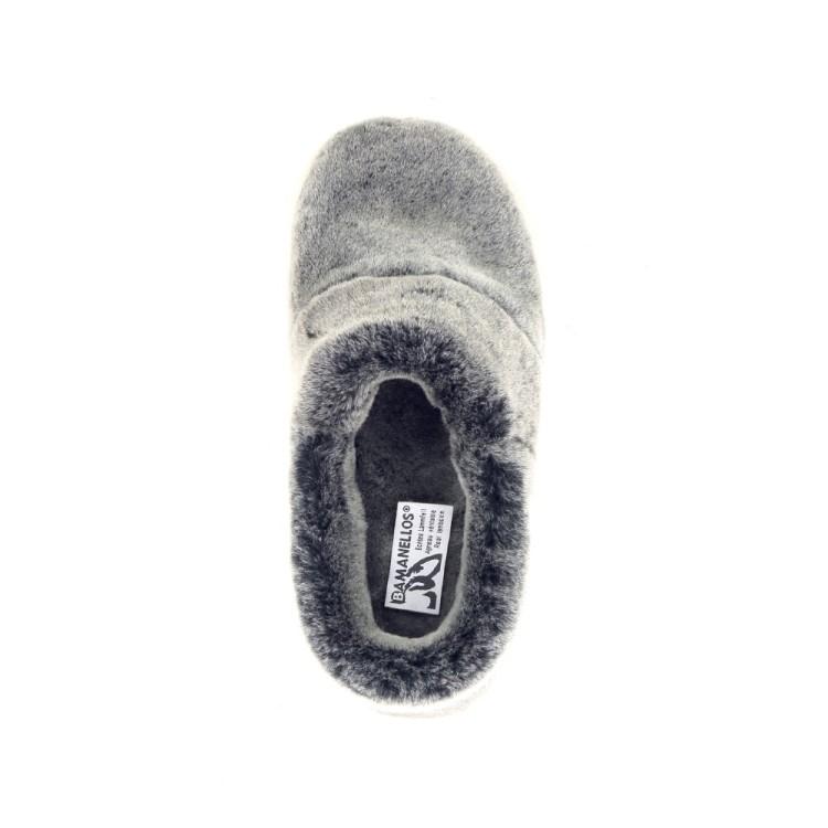 Bamanellos damesschoenen pantoffel grijs 189833