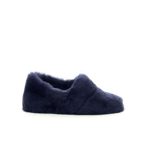 Bamanellos  pantoffel donkerblauw 200530