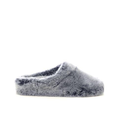 Bamanellos  pantoffel grijs 215979
