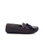 Bamanellos herenschoenen pantoffel taupe 189838