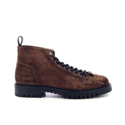 Barracuda herenschoenen boots cognac 209922