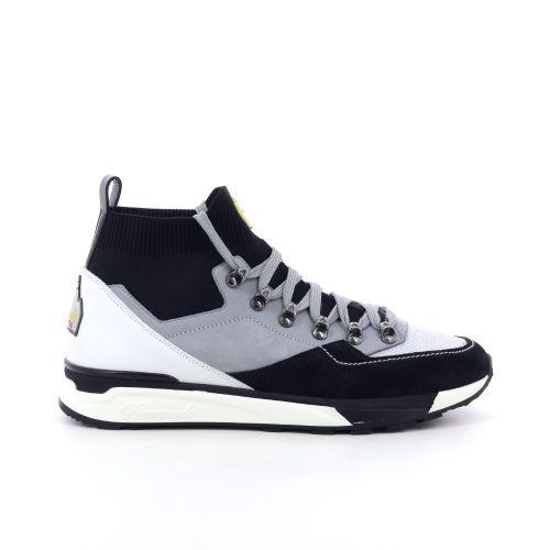 Barracuda herenschoenen sneaker zwart 205773