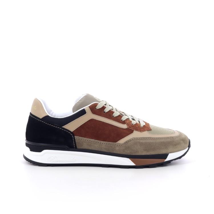 Barracuda herenschoenen sneaker beige 205774