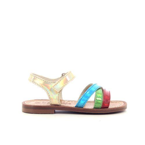 Beberlis kinderschoenen sandaal multi 213556