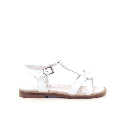 Beberlis kinderschoenen sandaal wit 183702