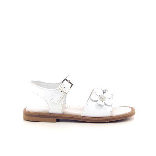 Beberlis kinderschoenen sandaal wit 194177