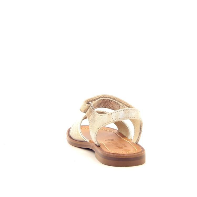 Beberlis kinderschoenen sandaal goud 194180