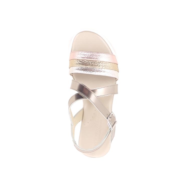 Beberlis kinderschoenen sandaal goud 194184