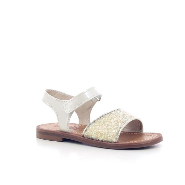 Beberlis kinderschoenen sandaal goud 204757