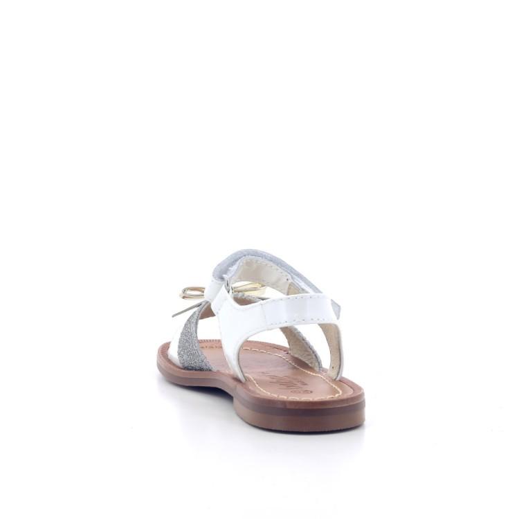 Beberlis kinderschoenen sandaal wit 204756