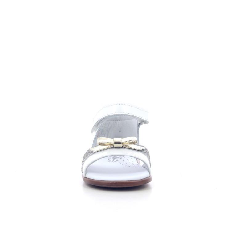 Beberlis kinderschoenen sandaal wit 204770