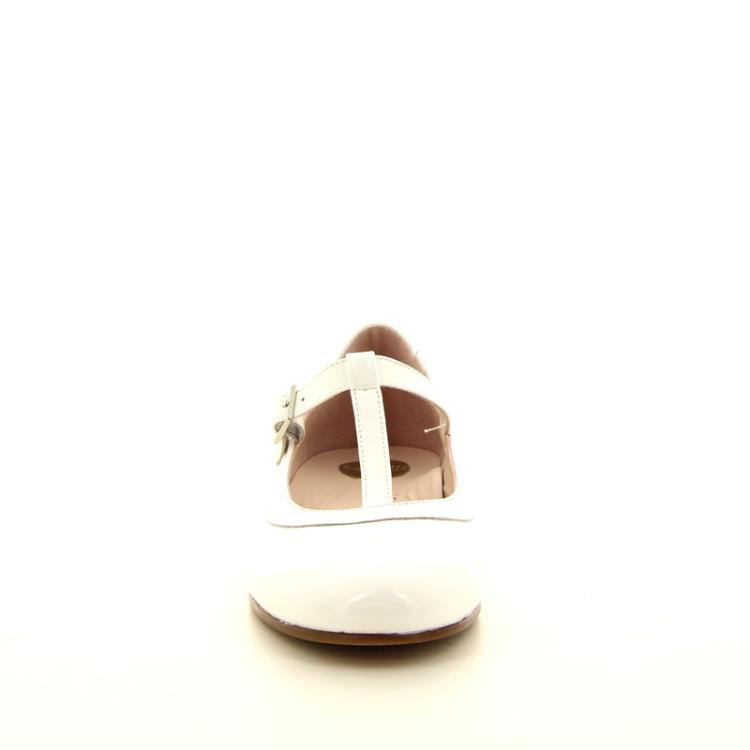 Beberlis kinderschoenen ballerina wit 11252