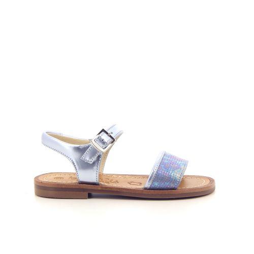Beberlis koppelverkoop sandaal blauw 183700