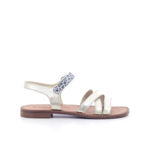 Beberlis  sandaal platino 204753