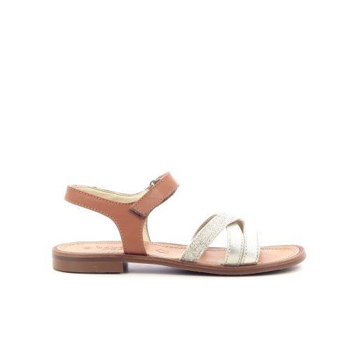 Beberlis  sandaal platino 204755