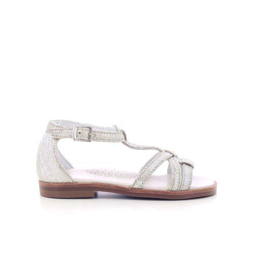 Beberlis  sandaal platino 204771