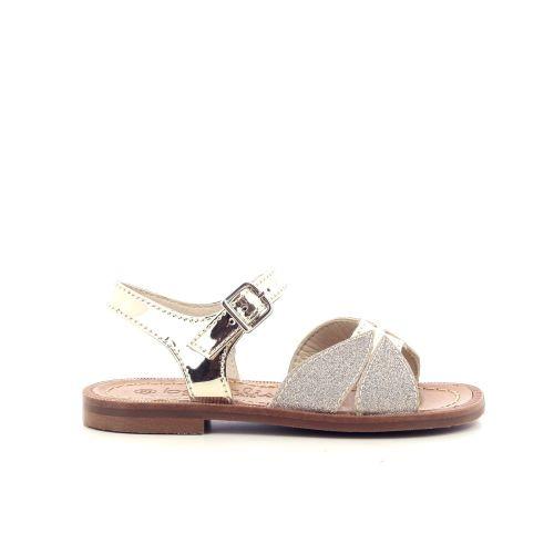 Beberlis  sandaal platino 213552