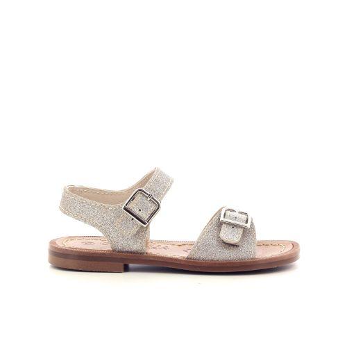 Beberlis  sandaal platino 213558