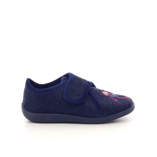 Bellamy kinderschoenen pantoffel donkerblauw 179409