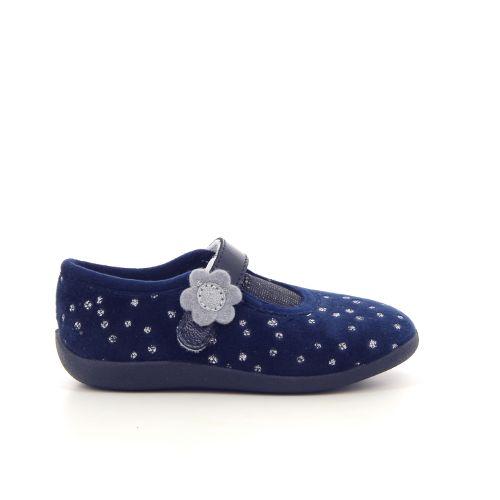 Bellamy kinderschoenen pantoffel donkerblauw 179413