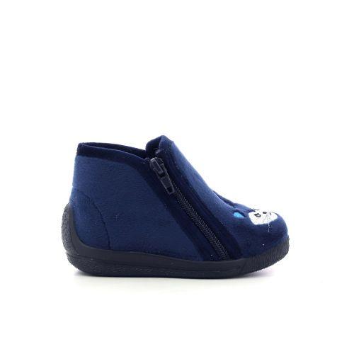 Bellamy kinderschoenen pantoffel donkerblauw 210512