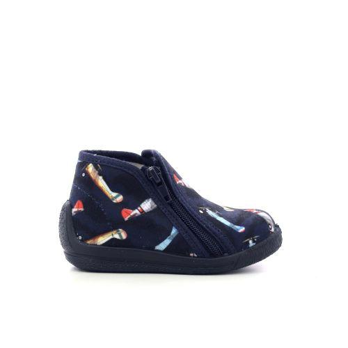 Bellamy kinderschoenen pantoffel donkerblauw 210515