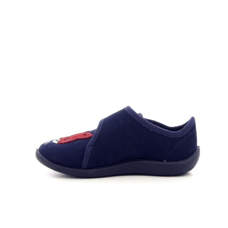 Bellamy kinderschoenen pantoffel donkerblauw 194474