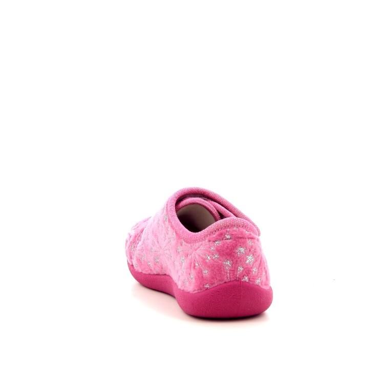 Bellamy kinderschoenen pantoffel felroos 189851