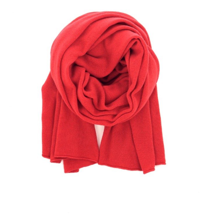 Bellamy (scarf) accessoires sjaals d.rood 200762