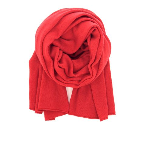 Bellamy (scarf) accessoires sjaals d.rood 200762