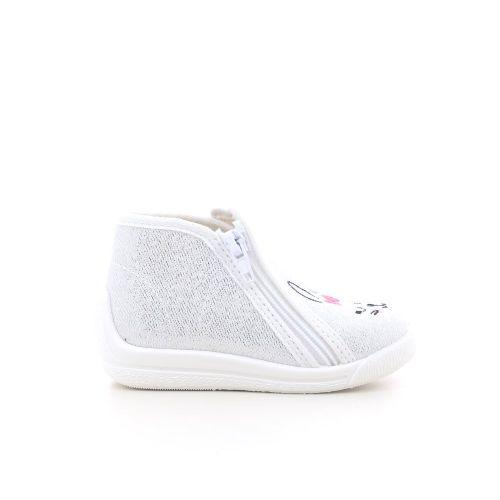 Bellamy  pantoffel zilver 214381
