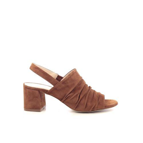 Benoite c damesschoenen sandaal cognac 205254