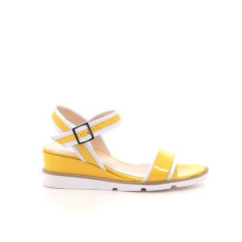 Benoite c damesschoenen sandaal geel 194841