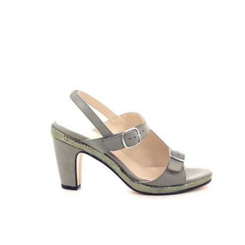 Benoite c damesschoenen sandaal kaki 174069