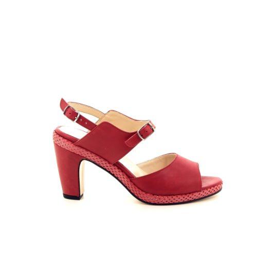 Benoite c damesschoenen sandaal rood 174065