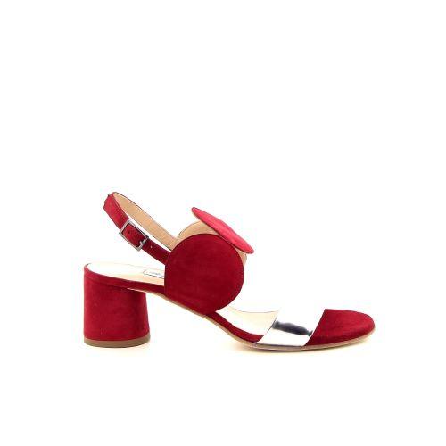 Benoite c damesschoenen sandaal rood 184552