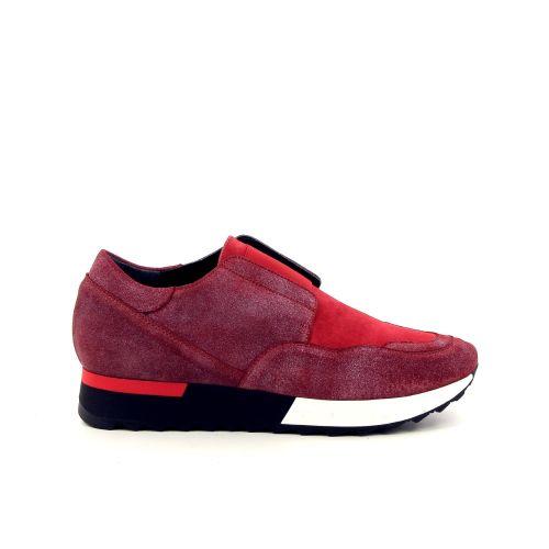 Benoite c damesschoenen sneaker rood 190552