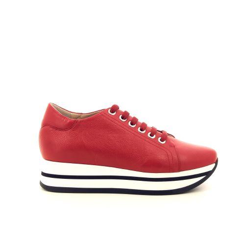 Benoite c damesschoenen sneaker rood 194890