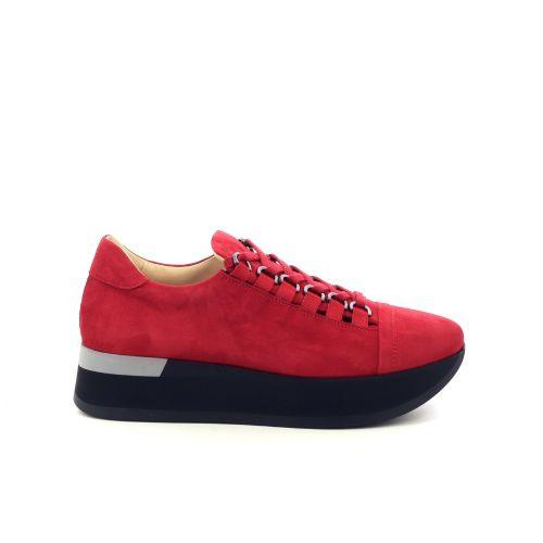 Benoite c damesschoenen sneaker rood 201444
