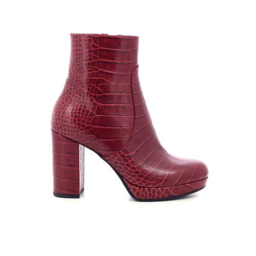 Benoite c damesschoenen boots rood 211178