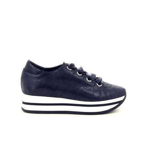 Benoite c damesschoenen sneaker zwart 190546