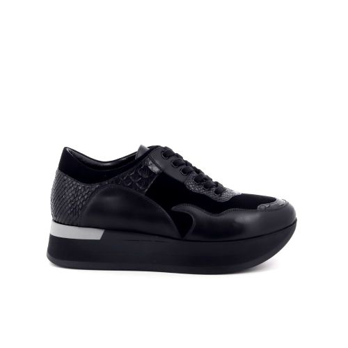 Benoite c damesschoenen sneaker zwart 201442