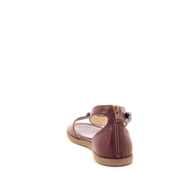 Benoite c damesschoenen sandaal cognac 194840